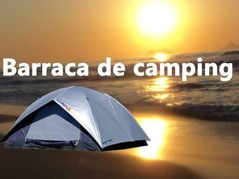 8f4d27abd Barraca Iglu Luna 5 Pessoas - Mor - YouTube