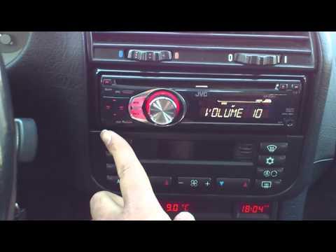 JVC KD R301 Autostereo mp3 CD Radio Aux Text.mp4