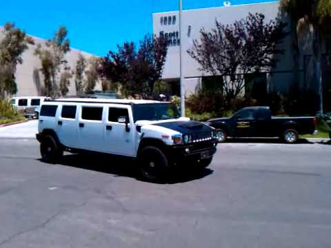 What Is A Cadillac Converter >> *Rare* 6 Door H2 Hummer Duramax Conversion- First Time Out ...