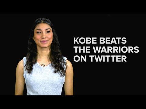 Kobe beats the Warriors... on Twitter
