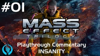 Mass Effect Trilogy | Episode #1 Eden Prime | Insanity