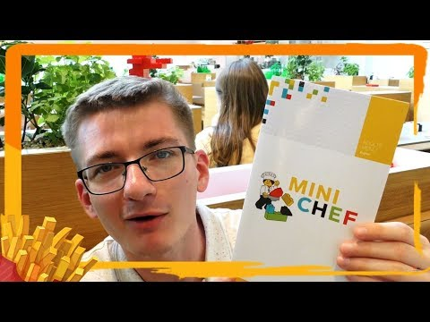 MACIEK w MINI CHEF / LEGO HOUSE VLOG