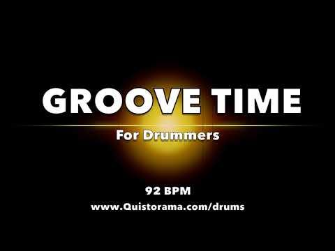 HIP HOP GROOVE TIME // Backing Jam Track For Drummers (NO DRUMS)