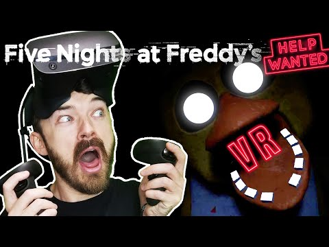 Let's Play Five Nights at Freddy's Help Wanted Night 1! (FNAF: VR Oculus Rift S Gameplay)
