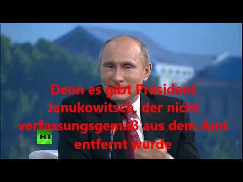 Putin im Mai 2014 zur Ukraine