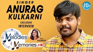 Singer Anurag Kulkarni Exclusive Interview || Melodies And Memories #18
