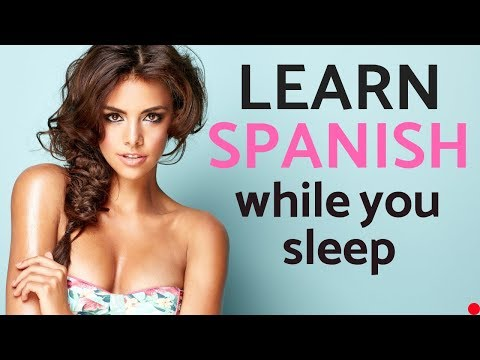 Learn Spanish While You Sleep 😴 Daily Life In Spanish 💤 Spanish Conversation (8 Hours)