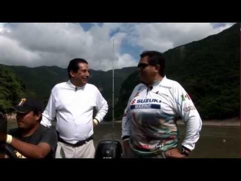 Vámonos De Pesca con Paco Marroquín-Cañón del Sumidero, Chiapas con Ramiro Arroyo
