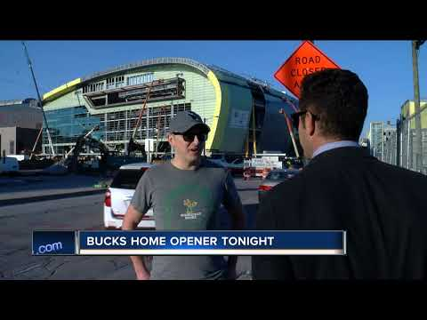 Milwaukee Bucks begin final season at BMO Harris Bradley Center Friday night