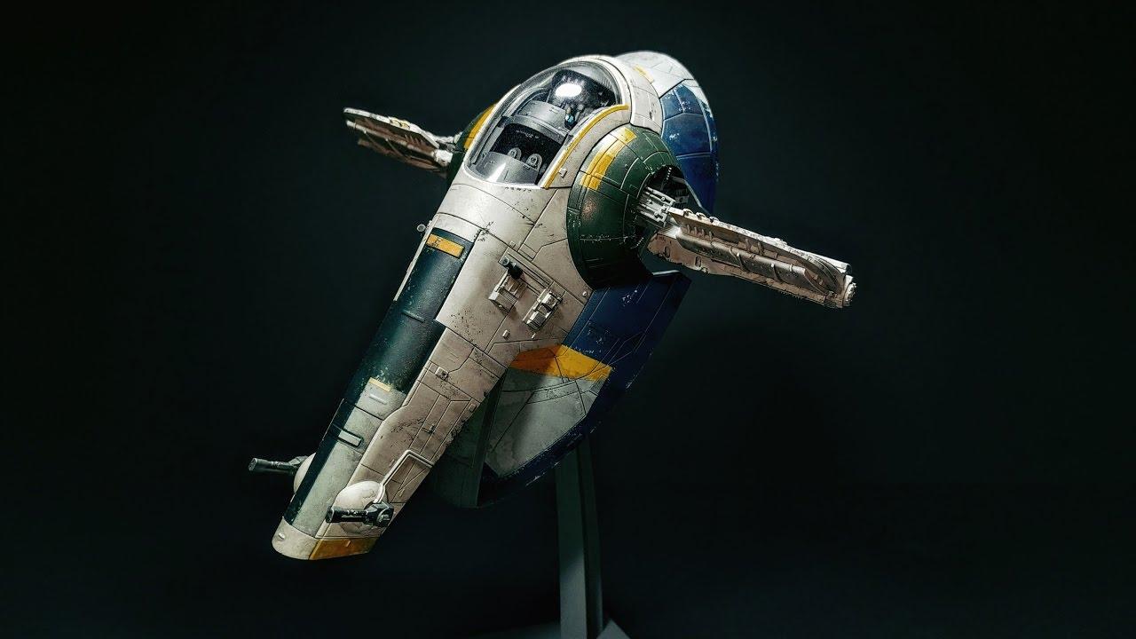 Star Wars Cake. Boba Fett's 'Slave 1'