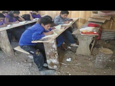 Las condiciones inhumanas de las escuelas mexicanas