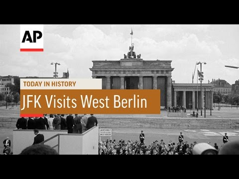 JFK Visits West Berlin - 1963 | Today in History | 26 June 16