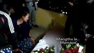 A pasal accident a boral a mangtha | A tawp nan..