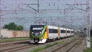 韓国京釜線細柳駅 ムグンファ号、ヘラン号(20160809)