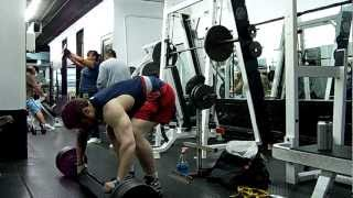 Deficit Pendlay Rows (with all quarters) 245lbsX10 (One of the best moves for rear delts and traps)