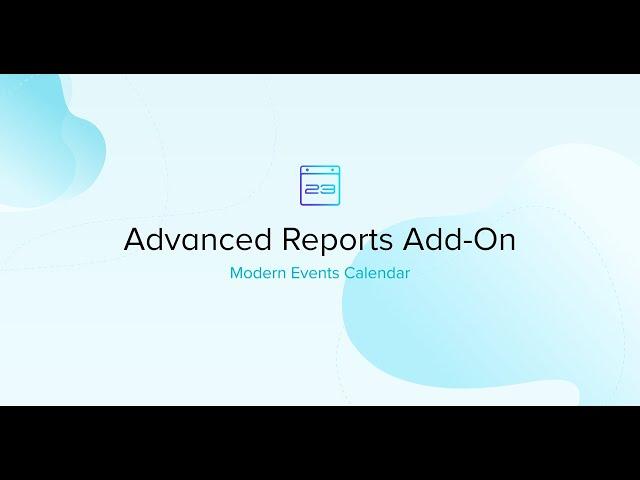 Modern Events Calendar Advanced Reports Addon
