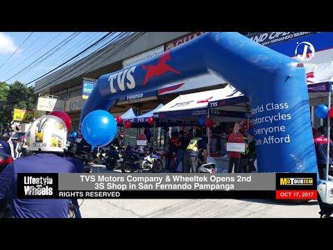 TVS Motorcycles Now in San Fernando Pampanga! News Update (October 17, 2017)