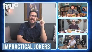 Impractical Jokers: Dinner Party - Thanksgiving Joker Style (Clip) | truTV