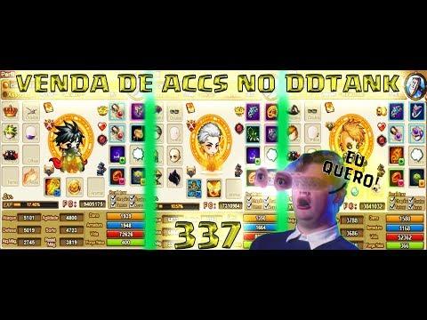 ‹ VENDA DE ACCS NO DDTANK 337 - MUITA CONTA :O ›