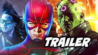 The Flash 4x10 Promo - Legion of Superheroes Scene Explained