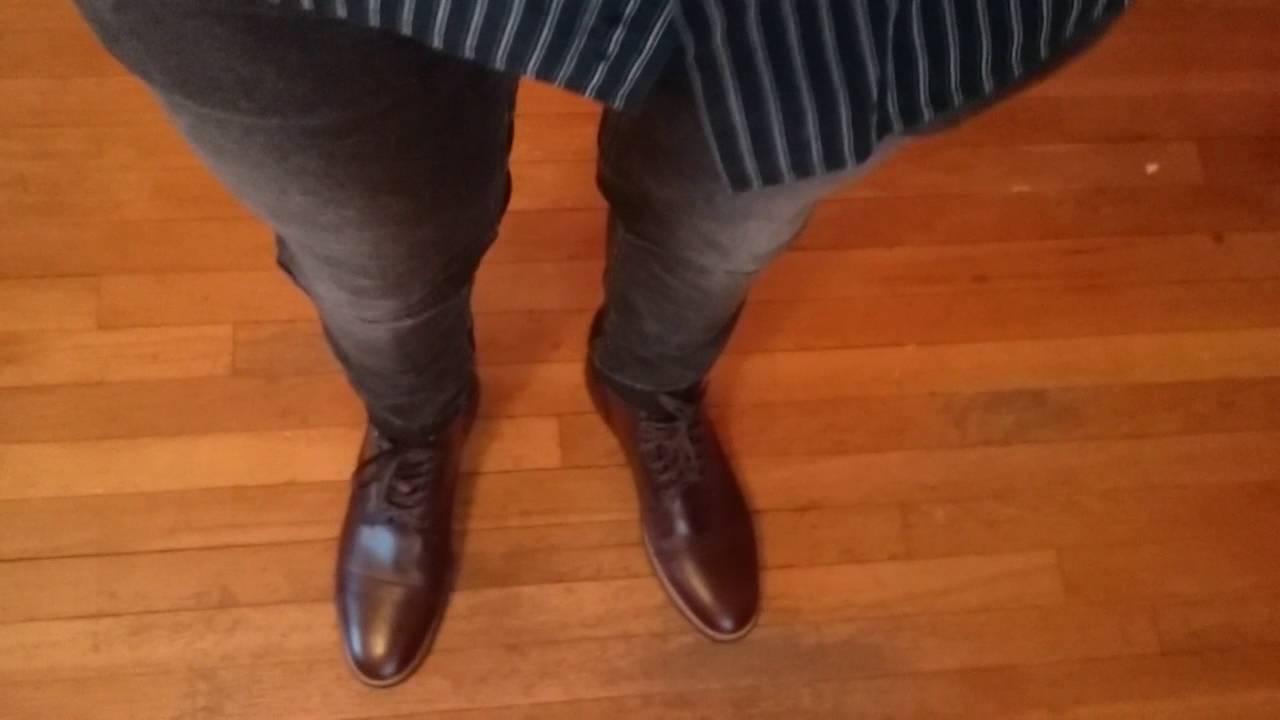 a3767a3e4e thursday brown captain boot on feet - YouTube