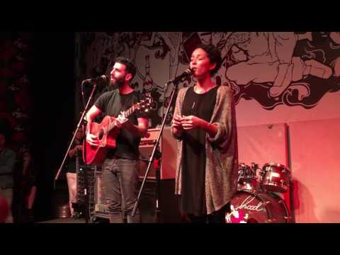I Will Spend My Whole Life Loving You FIRST live ever!! - Kina Grannis & Imaginary Future