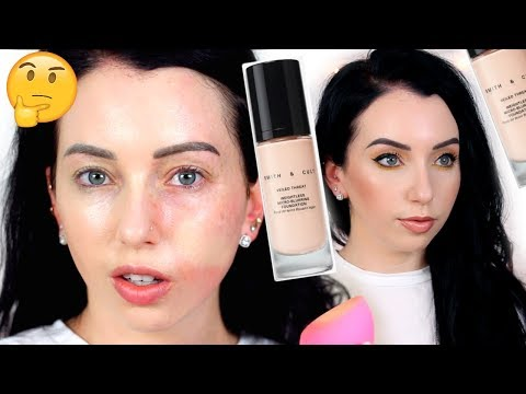 Smith & Cult Veiled Threat Micro-Blurring FOUNDATION {First Impression Review & 10 HR Wear Test} thumbnail