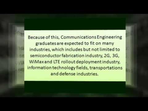 Communications Engineering Online Degree In A Nutshell