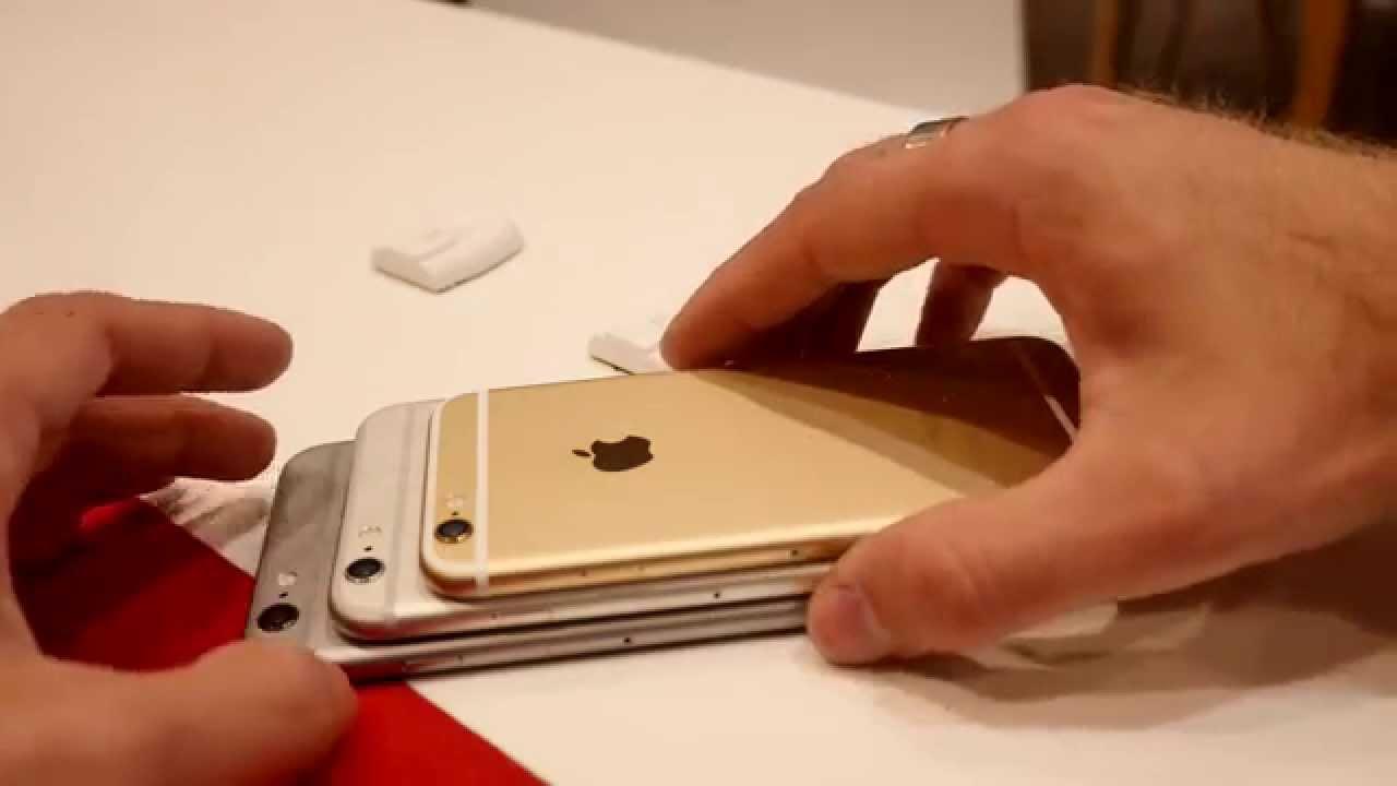 Apple IPhone 6 Colors Comparison 4K
