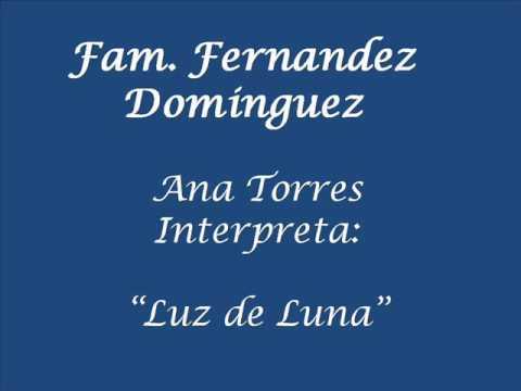 luz de luna Ana Torres