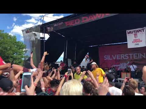 Silverstein - My Heroine @ Toronto Vans Warped Tour 2018