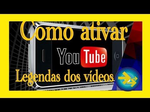 como ativar legendas em português para todos os videos do youtube no celular(closed caption)