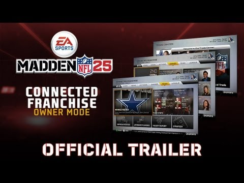 Madden 25 - Connected Careers Trailer (Ft. Owner Mode) - 0 - Madden 25 – Connected Careers Trailer (Ft. Owner Mode)