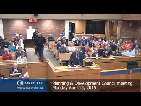 Planning & Development meeting of April 13, 2015