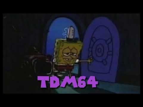 Spongebob Ripped His Pants Falling Down \