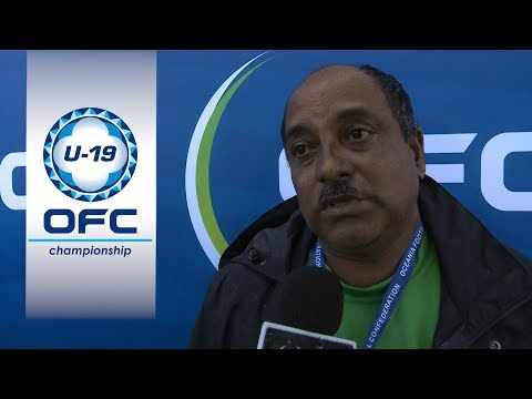 Post Match Interview - Solomon Islands v Fiji