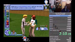The Sims 2 (Console NTSC-U) Story Mode Any% Speedrun in 2:50:59 (Current PB)