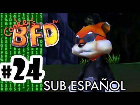 Conker's Bad Fur Day - Parte 24 - Español - N64 - Heist