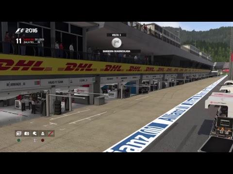 F1 Brasil - F1 2016 PS4 - Categoria Elite - GP Áustria Red Bull Ring