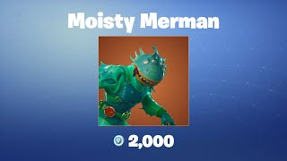 Moisty Merman   Fortnite Outfit/Skin