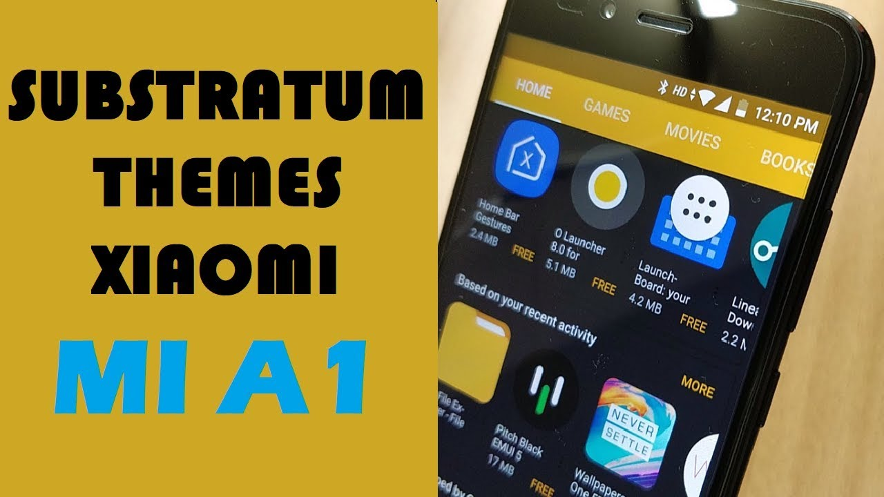 Substratum Theme Engine for Xiaomi MI A1 run… | Xiaomi Mi A1