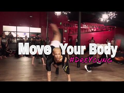 Dre Young | Sia - Move Your Body | Nika Kljun Choreography | DanceOn Class