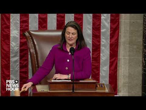 WATCH: House votes to impeach Trump | Trump impeachment