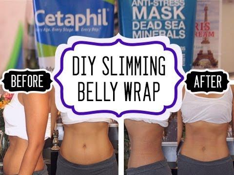 diy belly slimming wrap)