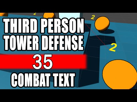 How To Tower Defense • 35 • Floating Combat Text [Tutorial][C#]