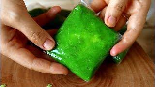 BÁNH CỐM - Green Sticky Rice Cake Recipe
