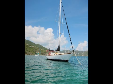 Living on a sailboat in St. John USVI Caribbean