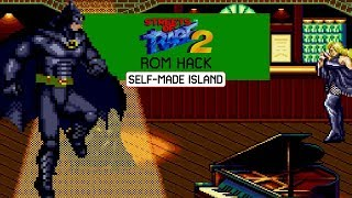 DC Comics Heroes Edition - Batman - The Dark Knight • Streets of Rage 2 ROM Hack (Longplay)