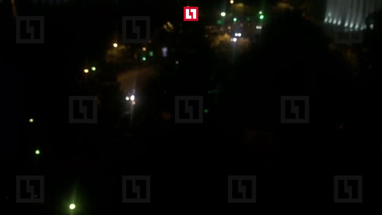 Кортеж премьера Медведева приехал к ресторану в Сочи