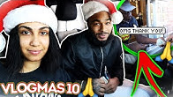 TIPPING DRIVE-THRU WORKERS $100 FOR THE HOLIDAYS!!! VLOGMAS DAY 10